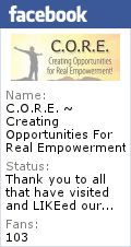 """Join us every Wed at Noon for C.O.R.E.  This week on April 25, 2012 at 12:00PM EST, we discuss """"Small Steps to Living Your Best Life"""" Join us and be our guest or part of the discussion on our Facebook Wall!   Presented by Whats Up SWFL - SWFL Happenings!"""