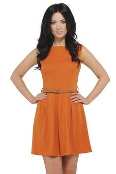 orange w/ belt