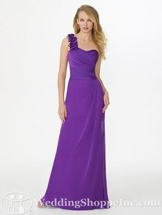 purple Bridesmaid Dress... I would want this in a diff color