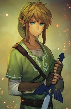 How link should look in the zeld U teaser trailer<<Does he even put a green tunic on cuz if he doesn't then Nintendo's trying to make people angry.