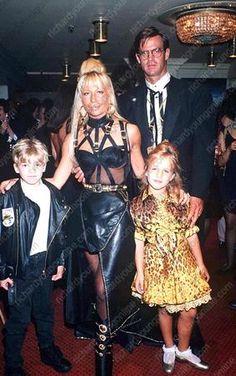 Donatella Versace 1992