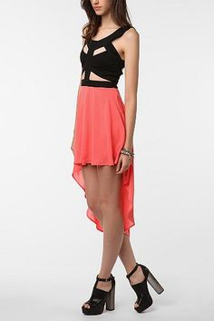 Reverse Cutout Dress - Urban Outfitters