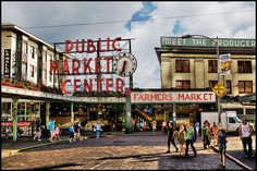 Seattle just wouldn't be the same without its famous Pike Place Market! #StartingNow