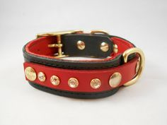 Leather dog collar - Spoiled Dog Leather Co.
