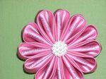 DIY Fabric Flower Corsage