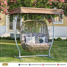 Sentosa salıncak ile bahçenizde güzelce sallanmaya ne dersiniz ?  #setosa #salıncak #vitello
