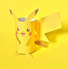 Image result for pikachu from toilet paper rolls