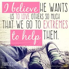 """3 Extreme Ways To Help Others ~ A Generous Love ~ Years ago, I remember hearing a pastor saying, """"Never resist a generous impulse."""" On one occasion he was standing behind a single mother of 3 and she was in tears while searching for enough change to pay her grocery bill, so the pastor had a generous impulse. He handed the cashier a twenty dollar bill, and the woman looked at him and said, """"Thank you"""" while tears were streaming down her face. [...]"""
