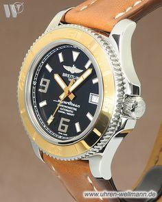 Breitling Superocean 44, Referenznummer: C1739112, Herrenuhr, Gehäusematerial: Stahl-Gold (4402) -- www.uhren-wellmann.de --