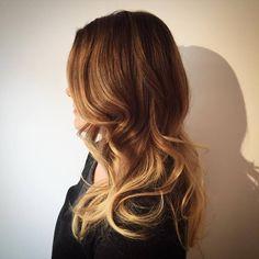 Fabulous Golden Balayage Hair Ideas