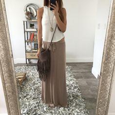 Nikki Maxi Skirt