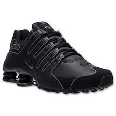 Mens Nike Shox NZ SL Running Shoes - 366363 006 | Finish Line