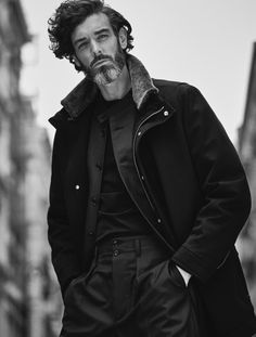 Canali FW15. Photo by Damon Baker. Styling by Robert Mefford.  menswear mnswr mens style mens fashion fashion style campaign lookbook canali