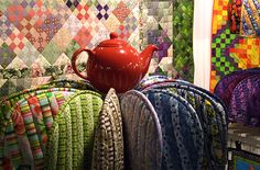 """A common saying in England is """"never trust a man who left alone with a tea cozy does not put it on his head""""."""