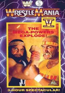 WWF / WWE: Wrestlemania 5 - Event poster