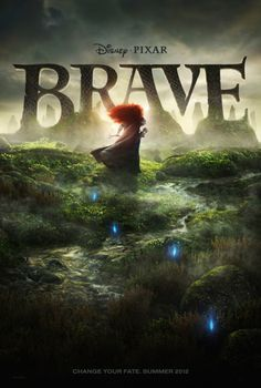 First official teaser poster for Pixar's 13th feature film, Brave. Count me in.