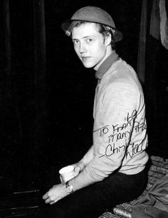 Christopher Walken. Actually, Christopher sitting.