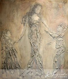 Plaster art - would love to try my hand at this! From Secrets of Segreto - Segreto Secrets Blog