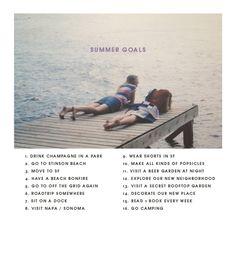 summergoals 2012