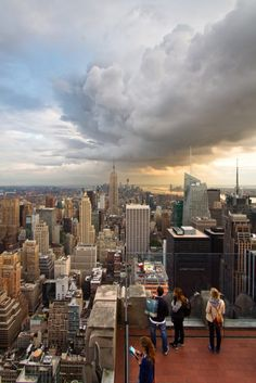 Best View in NYC: The Top of the Rock Observation Deck