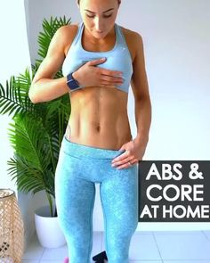 Fitness Workouts, Gym Workout Videos, Gym Workout Tips, Fitness Workout For Women, Ab Workout At Home, Sport Fitness, At Home Workouts, Body Fitness, Target Fitness