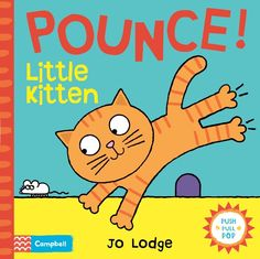 Pounce Little Kitten by Jo Lodge