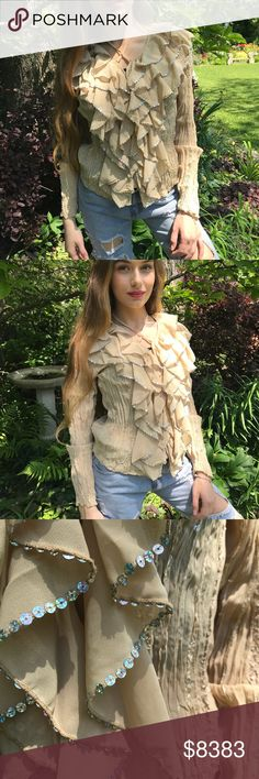 COMING SOON🔹Spring Ruffle Top PLEASE LIKE THIS LISTING FOR ARRIVAL UPDATES. This is my photo/model, actual item shown. USA sizes. Birthday Anniversary gift present. Vacation Vegas cruise wedding pageant poolside beach lounging date night festival spring summer fall winter dress cover up🔻IF YOU LIKE MY ITEMS, please FOLLOW ME to see NEW ARRIVALS Posh Garden Tops