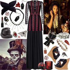 """""""Don't concern me a bit, witch hunters is white women's worry."""" by aquabatgirl on Polyvore"""