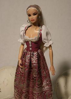 Kyori, Fashion Royalty in Dirndl | Flickr - Photo Sharing!
