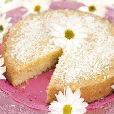 Solkaka Silviakaka recept Pastry Recipes, Dessert Recipes, Chocolate Sweets, Almond Joy, Swedish Recipes, Fika, Vanilla Cake, Tart, Bakery