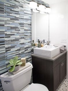 Transitional Bathrooms from Anthony Carrino on HGTV