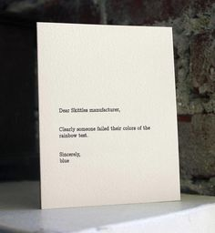 Dear blank Please blank... by Jared Wunsch and Hans Johnson.