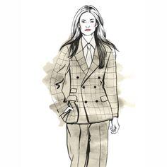 #fashion #illustration #style #catwalk