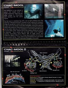 "Cenote-Chac-Mool-Map CENOTE CHAC MOOL (Mol) ""The Jaguar Cave"""