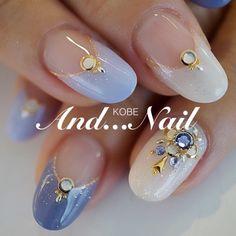 Korean nail art More Beautiful Nail Designs, Beautiful Nail Art, Gorgeous Nails, Korean Nail Art, Korean Nails, Asian Nail Art, Pretty Nail Art, Cute Nail Art, Asian Nails
