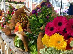 Flowerbundles sold this way on Dutch open Markets