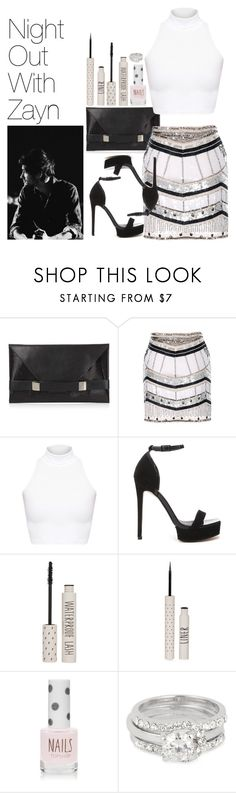 """Night Out with Zayn"" by onedirectionimagineoutfits99 ❤ liked on Polyvore featuring Unique, American Apparel, ASOS, Topshop and Jon Richard"