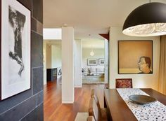 Dunlace Residence by Jillian Aimis Architect with Catellani & Smith Stchu-Moon and Artemide Castore