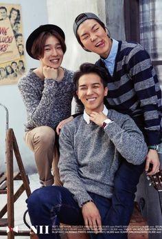 Nam Taehyun, Song Minho, Lee Seunghoon (YG Winner for NII Fall 2014)