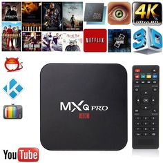 Android 6.0 MXQ pro Amlogic Quad-core Smart TV Box 1GB 8GB HD 1080P 4k*2k Streaming Arabic Iptv Box Media Player