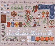 Buy Winter Sampler Embroidery Kit Online at www.sewandso.co.uk