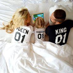 König und Königin 01 Prinz 01 Vater Mutter Sohn Tochter