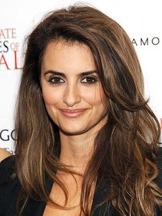 Eyebrows that are 1 to 2 shades darker than your hair, like on Penelope Cruz, are generally a fantastic frame for your face because they add definition. XOXO The eSalon.com Team
