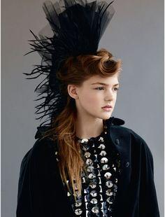 nice Elle UK December 2014 | Stephanie Cam, Meng Meng + More by Bjarne Jonasson [Editorial]