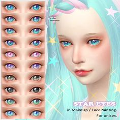 STAR EYES at Imadako via Sims 4 Updates