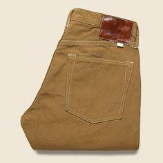 American Duck Canvas Jean - Brown
