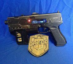 Dredd 3D Lawgiver MKII prop gun kit by MrPinskiProps on Etsy, $165.00