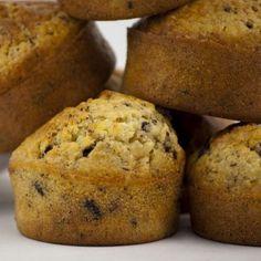 Bananen-Muffins mit Nutella-Füllung