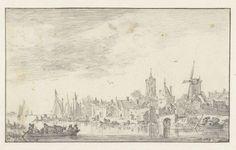 Gezicht op Delft, Jan van Goyen, 1652