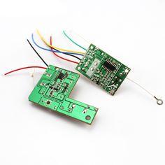 27MHZ 4CH Transmitter + Receiver Board for Remote Control Car DIY RC Toy Car